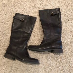 J Crew Brown riding boots